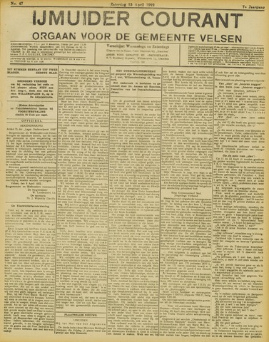 IJmuider Courant 1922-04-15
