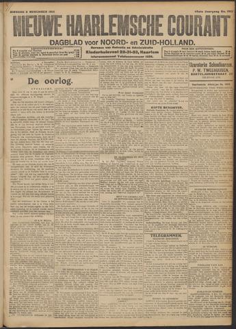 Nieuwe Haarlemsche Courant 1914-11-03