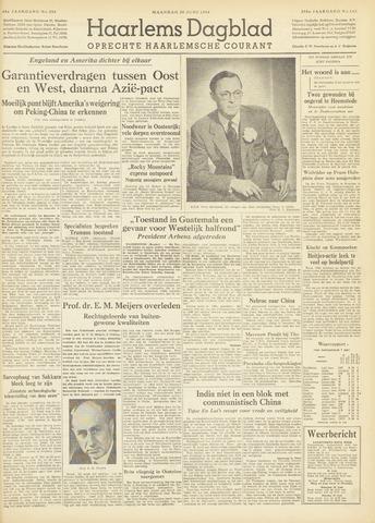 Haarlem's Dagblad 1954-06-28