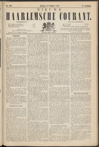 Nieuwe Haarlemsche Courant 1883-02-25