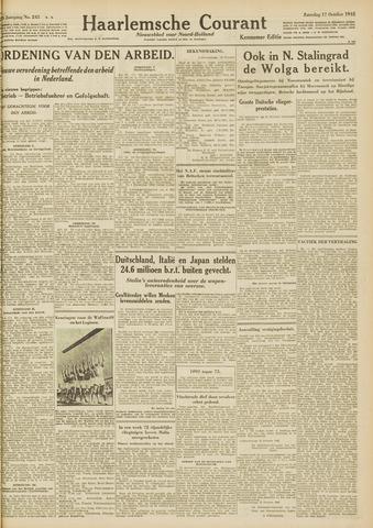 Haarlemsche Courant 1942-10-17