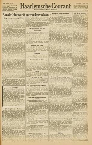 Haarlemsche Courant 1945-02-07