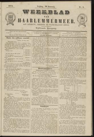 Weekblad van Haarlemmermeer 1874-01-30