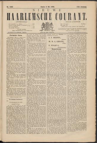 Nieuwe Haarlemsche Courant 1886-05-09