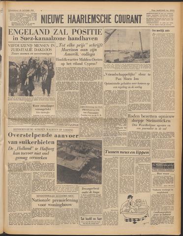 Nieuwe Haarlemsche Courant 1951-10-25