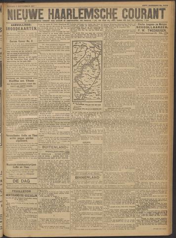 Nieuwe Haarlemsche Courant 1917-09-03
