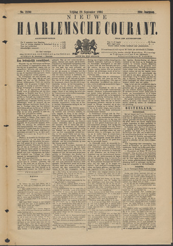 Nieuwe Haarlemsche Courant 1894-09-28