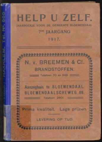Adresboeken Bloemendaal 1917