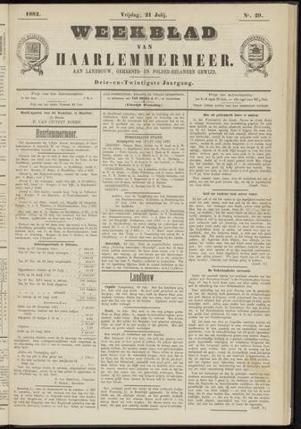 Weekblad van Haarlemmermeer 1882-07-21