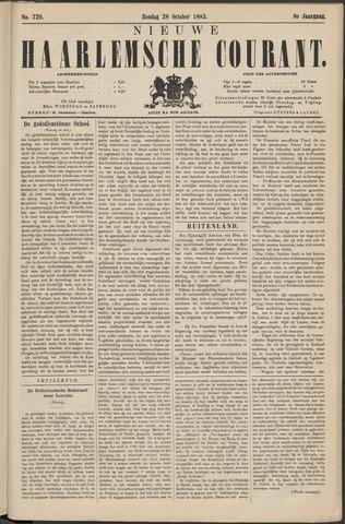 Nieuwe Haarlemsche Courant 1883-10-28
