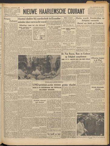 Nieuwe Haarlemsche Courant 1949-08-09