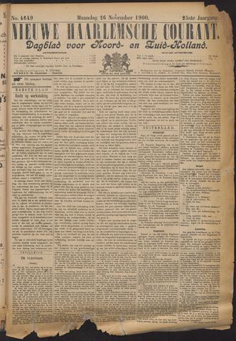 Nieuwe Haarlemsche Courant 1900-11-26