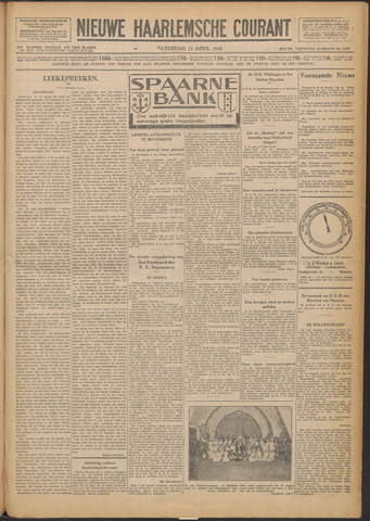 Nieuwe Haarlemsche Courant 1928-04-21