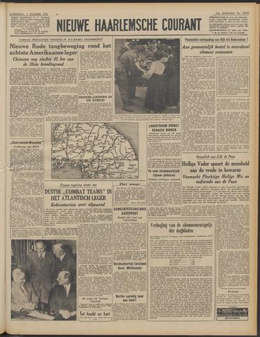 Nieuwe Haarlemsche Courant 1950-12-07