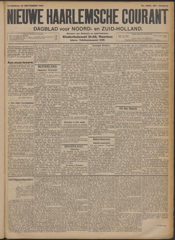Nieuwe Haarlemsche Courant 1907-09-28