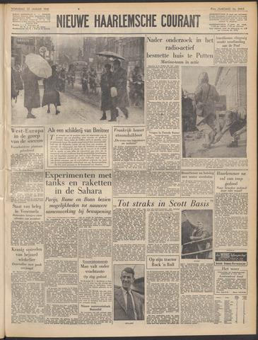 Nieuwe Haarlemsche Courant 1958-01-22