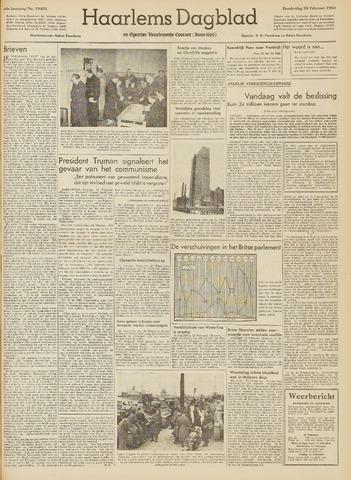 Haarlem's Dagblad 1950-02-23