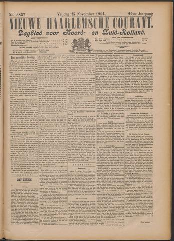 Nieuwe Haarlemsche Courant 1904-11-25