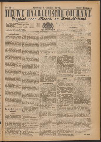Nieuwe Haarlemsche Courant 1902-10-04