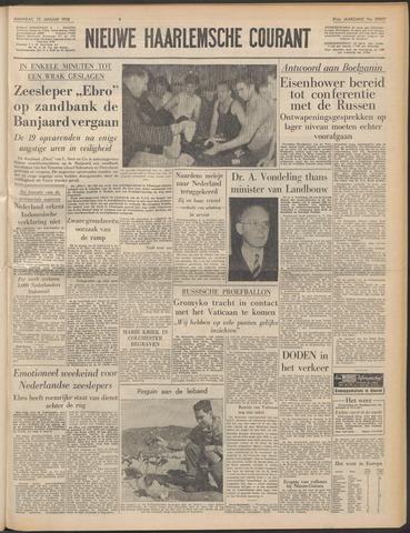 Nieuwe Haarlemsche Courant 1958-01-13
