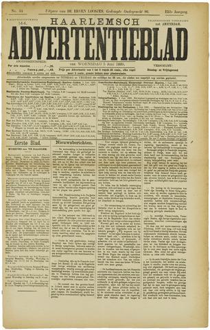 Haarlemsch Advertentieblad 1889-06-05