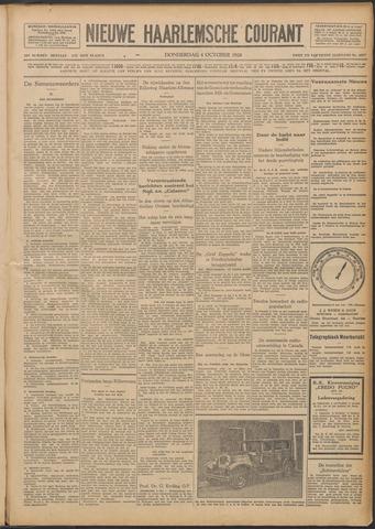 Nieuwe Haarlemsche Courant 1928-10-04
