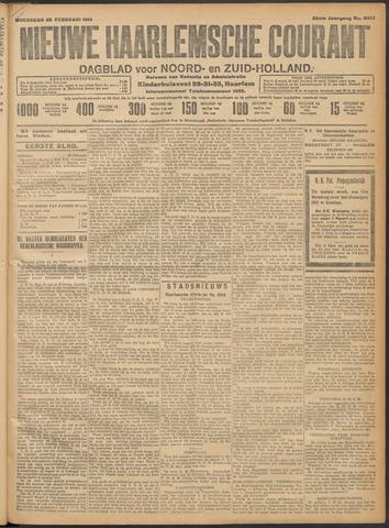 Nieuwe Haarlemsche Courant 1914-02-25