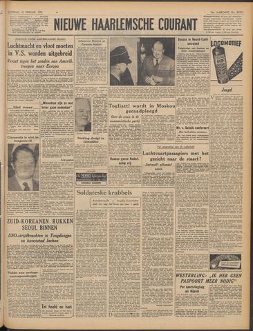 Nieuwe Haarlemsche Courant 1951-02-10