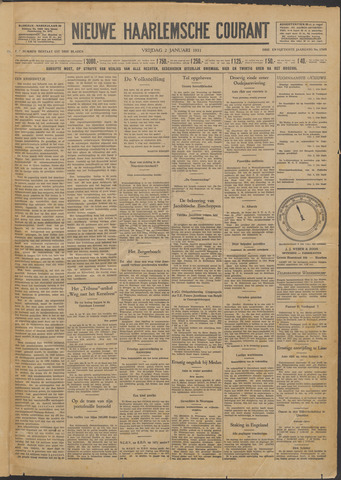 Nieuwe Haarlemsche Courant 1931-01-02
