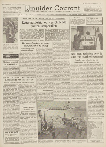 IJmuider Courant 1959-11-19