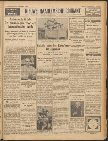Nieuwe Haarlemsche Courant 1939-12-25