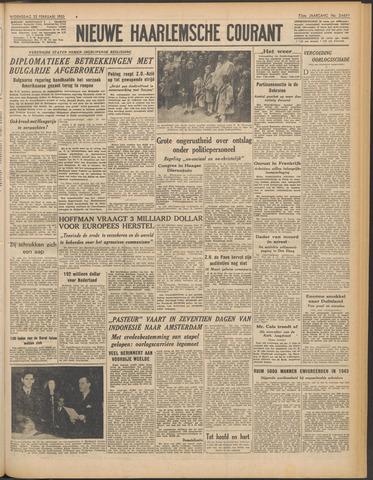 Nieuwe Haarlemsche Courant 1950-02-22