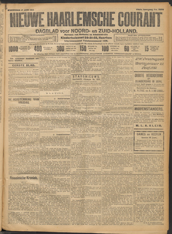 Nieuwe Haarlemsche Courant 1914-06-17