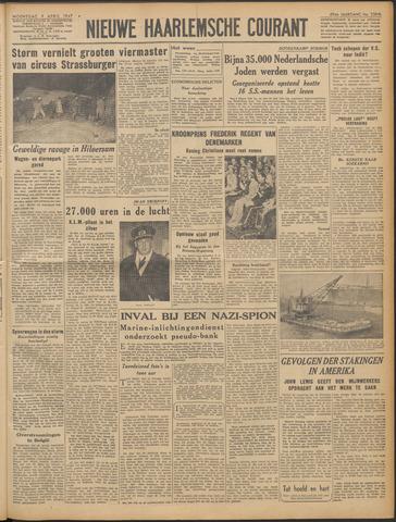 Nieuwe Haarlemsche Courant 1947-04-09