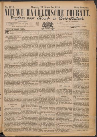 Nieuwe Haarlemsche Courant 1899-11-27