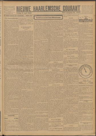 Nieuwe Haarlemsche Courant 1923-04-13