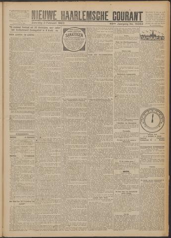 Nieuwe Haarlemsche Courant 1923-02-03