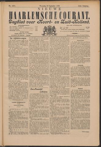 Nieuwe Haarlemsche Courant 1899-09-20