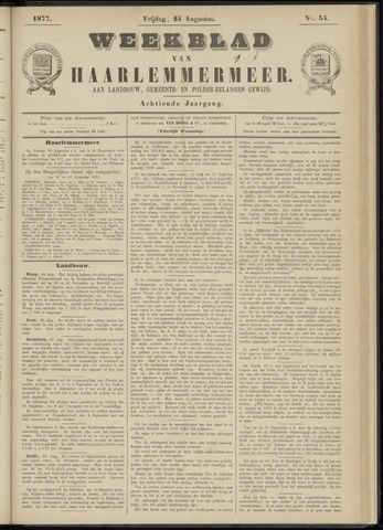 Weekblad van Haarlemmermeer 1877-08-24
