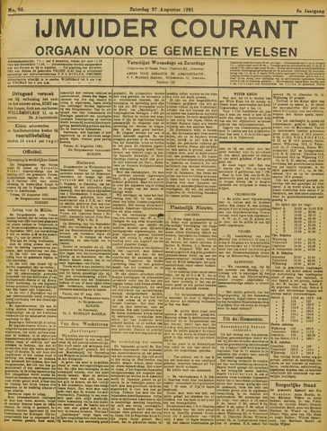 IJmuider Courant 1921-08-27