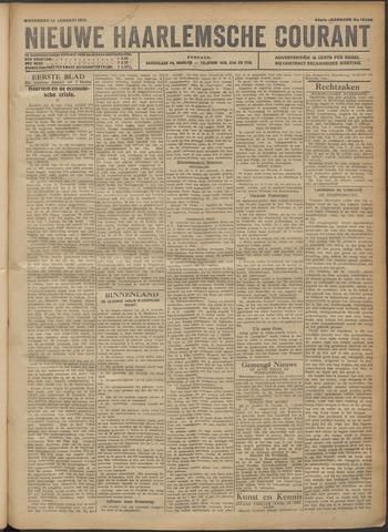 Nieuwe Haarlemsche Courant 1921-01-12