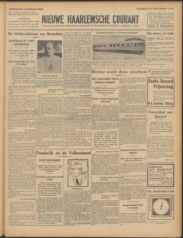 Nieuwe Haarlemsche Courant 1933-12-09