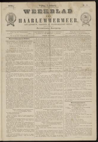 Weekblad van Haarlemmermeer 1876-01-07