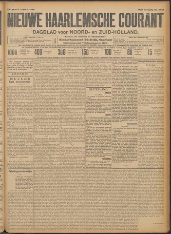 Nieuwe Haarlemsche Courant 1909-09-11