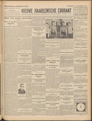 Nieuwe Haarlemsche Courant 1932-11-19