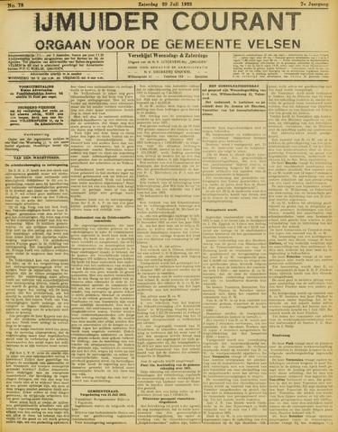IJmuider Courant 1922-07-29