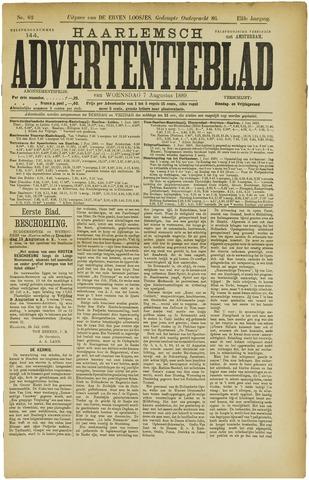 Haarlemsch Advertentieblad 1889-08-07