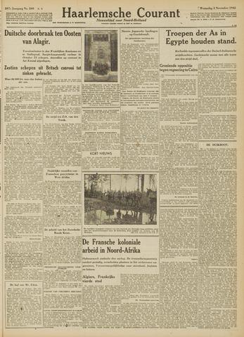 Haarlemsche Courant 1942-11-04