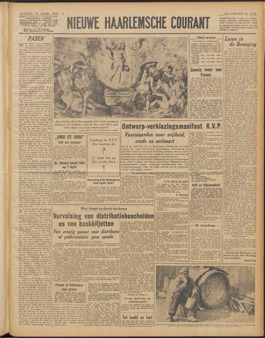 Nieuwe Haarlemsche Courant 1948-03-27
