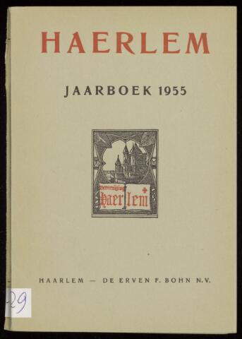 Jaarverslagen en Jaarboeken Vereniging Haerlem 1955